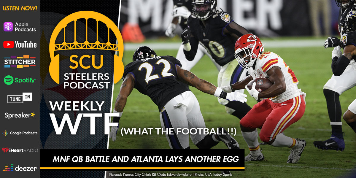 Weekly WTF: MNF QB battle and Atlanta lays another egg
