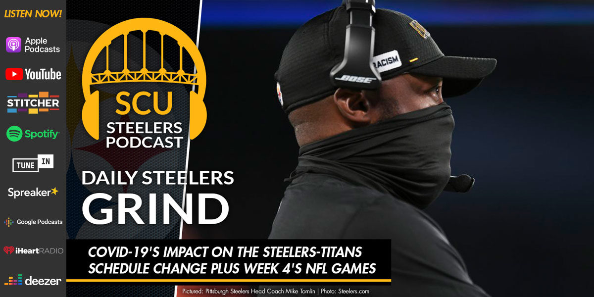 COVID-19's impact on the Steelers-Titans schedule change plus Week 4's NFL games