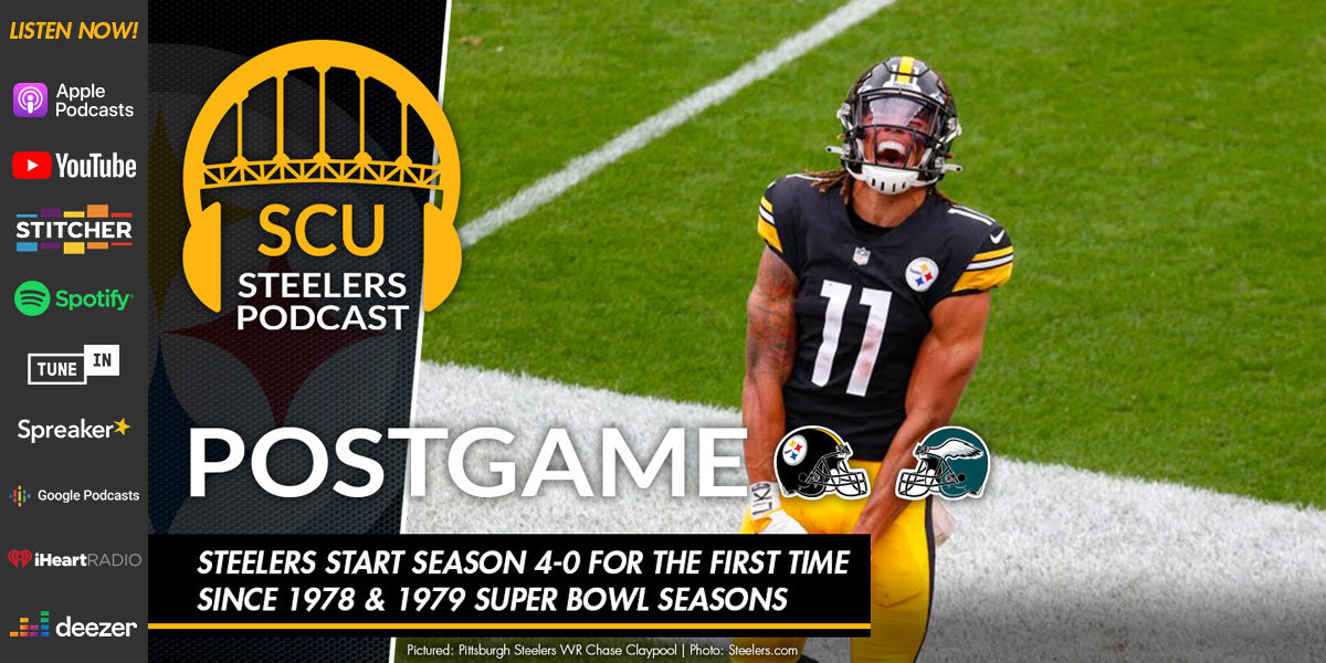 Steelers start season 4-0 for the first time since 1978 & 1979 Super Bowl seasons