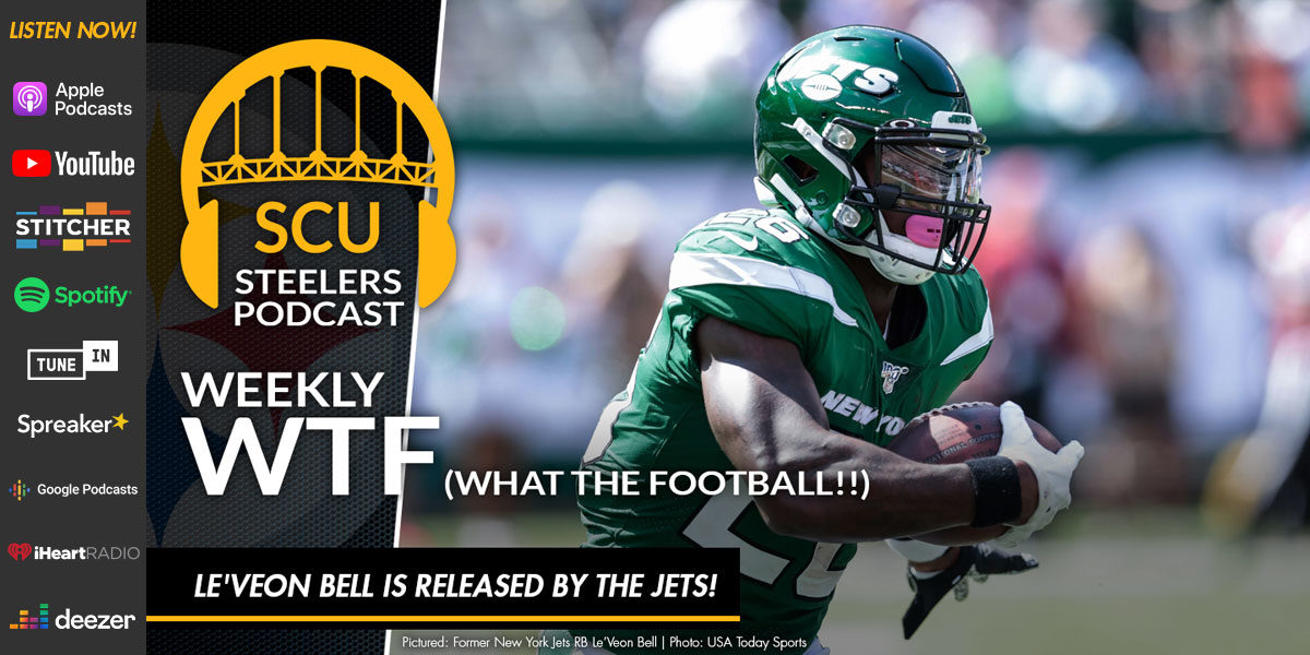 Weekly WTF: Le'Veon Bell is released by the Jets!