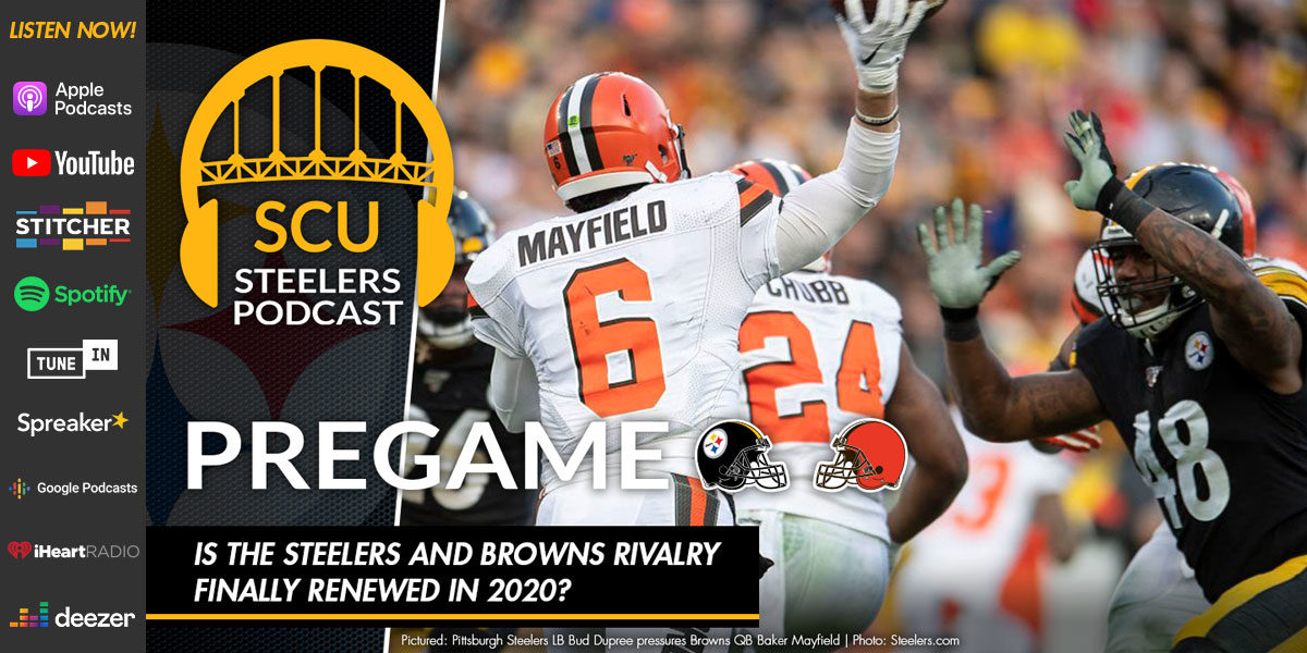 Is the Steelers and Browns rivalry finally renewed in 2020?`