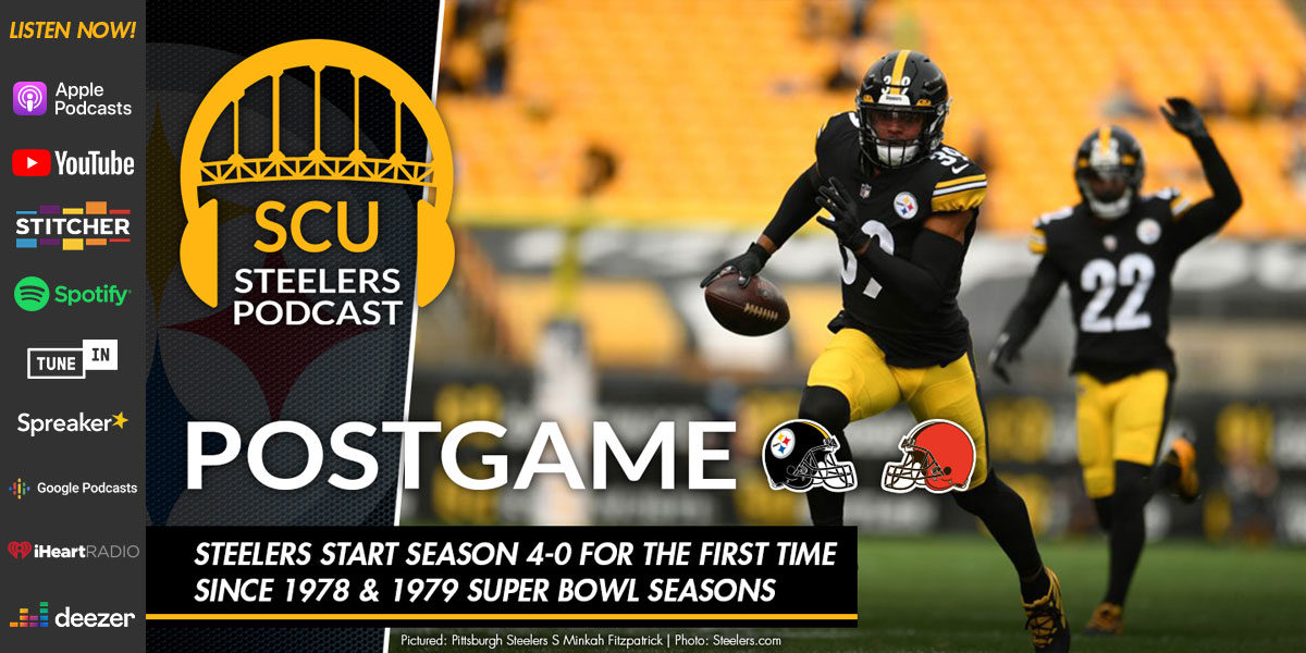 Steelers smack upstart Browns to remain an undefeated 5-0 on the season