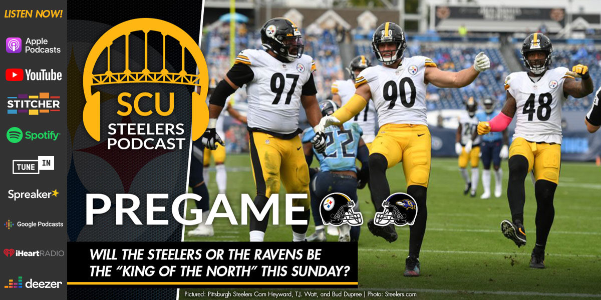 """Will the Steelers or the Ravens be the """"King of the North"""" this Sunday?"""