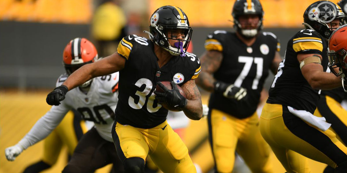 Pittsburgh Steelers RB James Conner