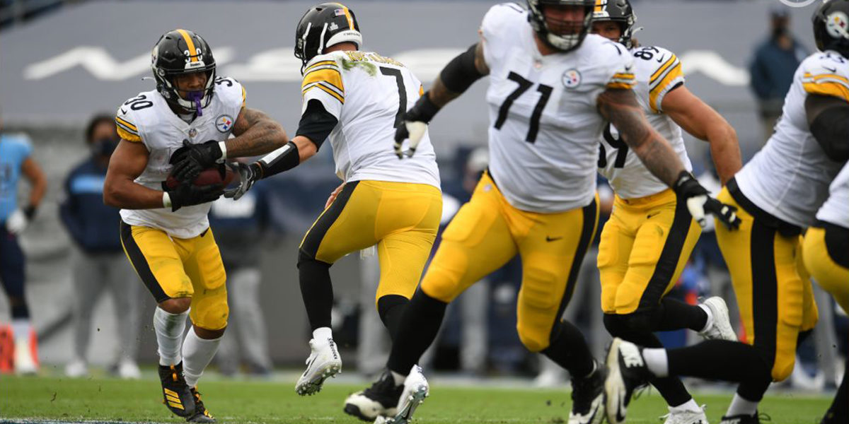 James Conner and Matt Feiler lead the way for the Steelers running game