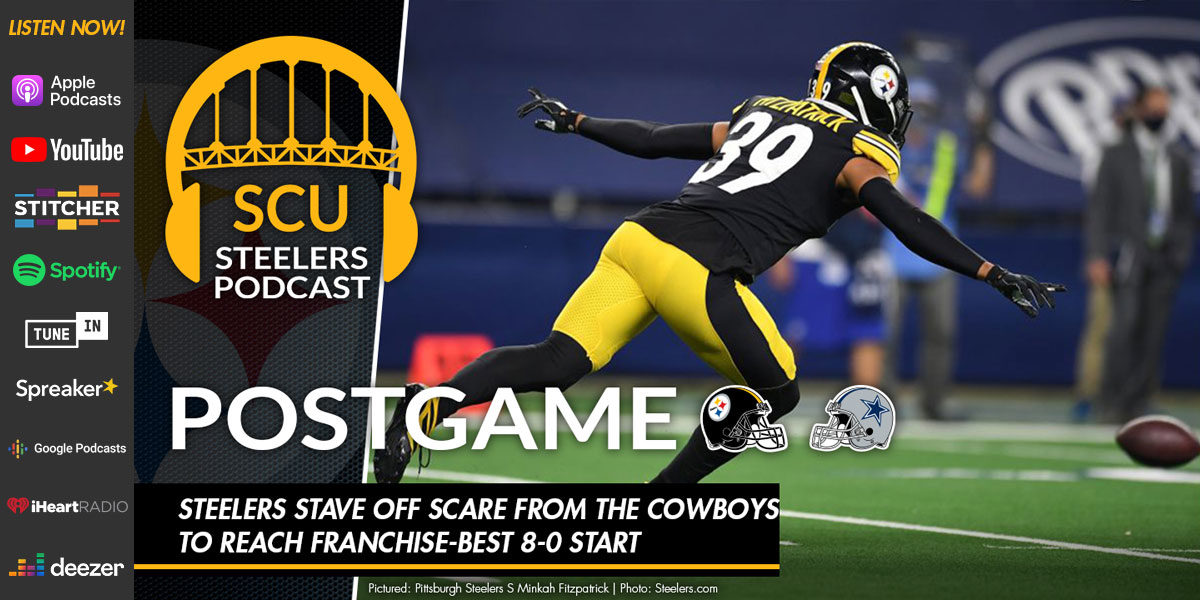 Steelers stave off scare from the Cowboys to reach franchise-best 8-0 start
