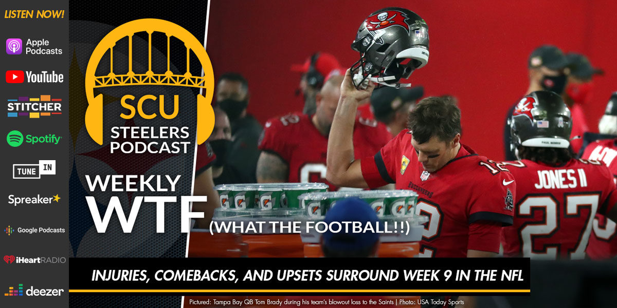 Weekly WTF: Injuries, comebacks, and upsets surround Week 9 in the NFL