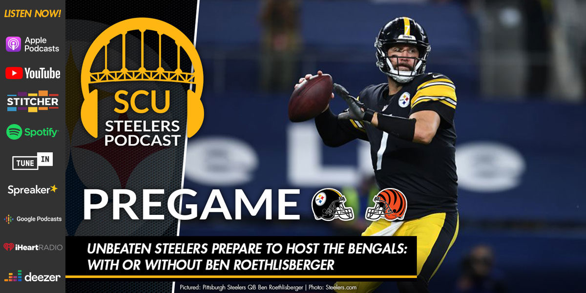 Unbeaten Steelers prepare to host the Bengals: with or without Ben Roethlisberger