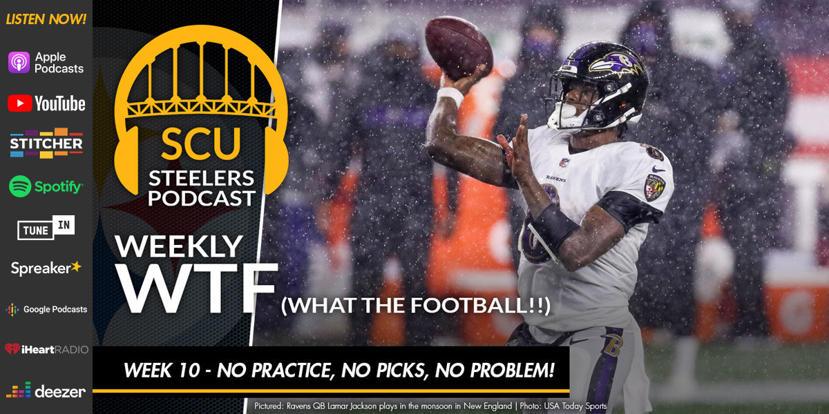 Weekly WTF: Week 10 - No Practice, No Picks, No Problem!