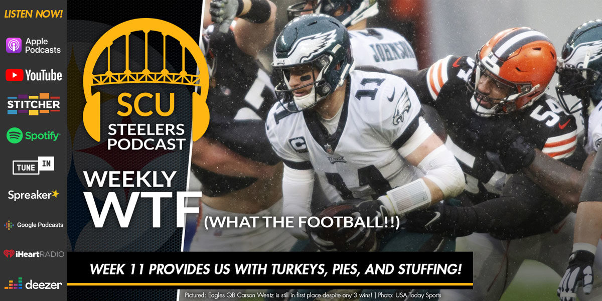 Weekly WTF: Week 11 provides us with turkeys, pies, and stuffing!