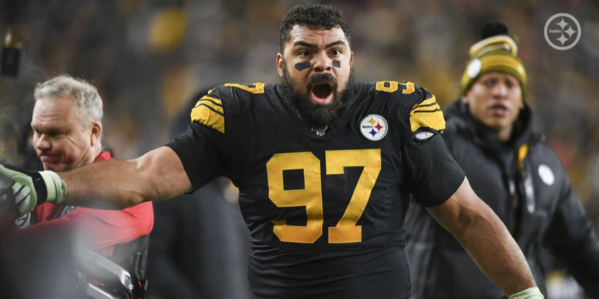 Pittsburgh Steelers DE Cameron Heyward
