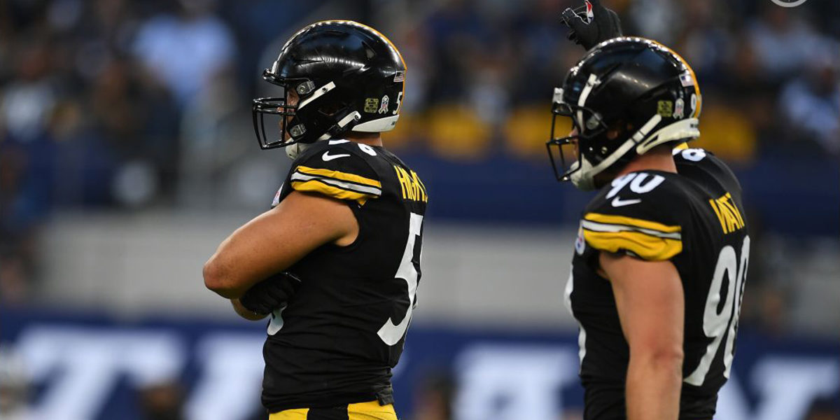 Pittsburgh Steelers LBs Alex Highsmith and T.J. Watt