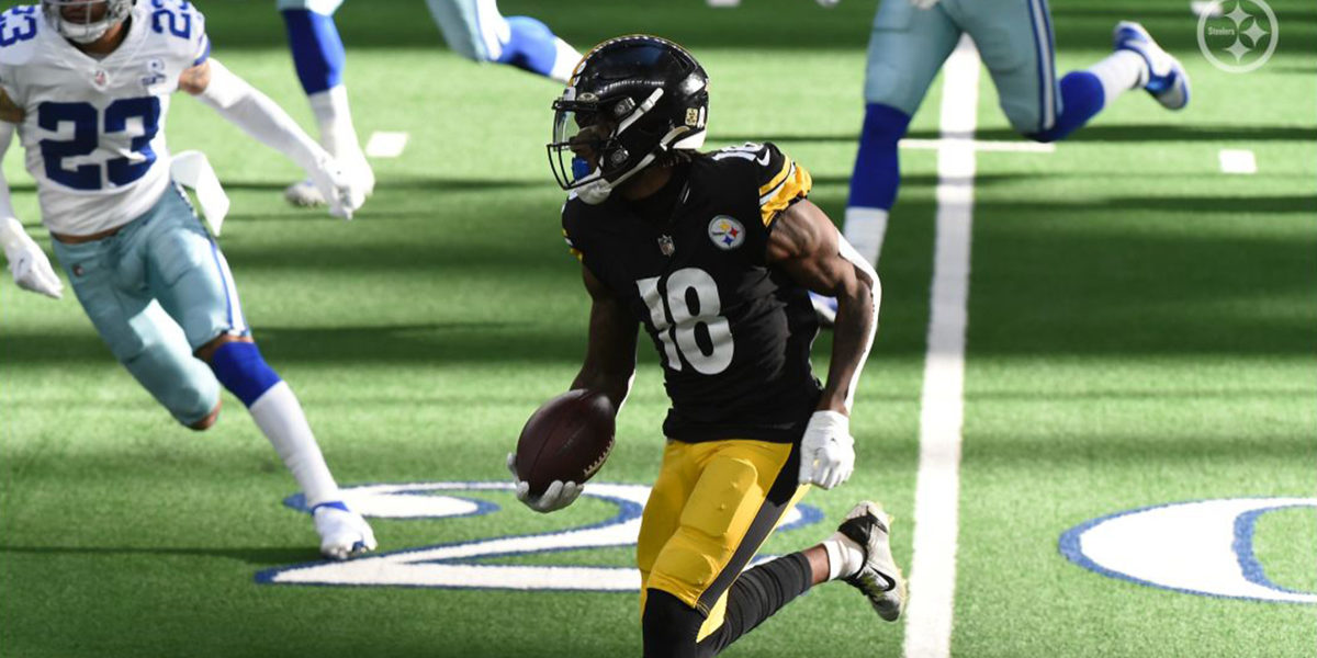 Pittsburgh Steelers WR Diontae Johnson