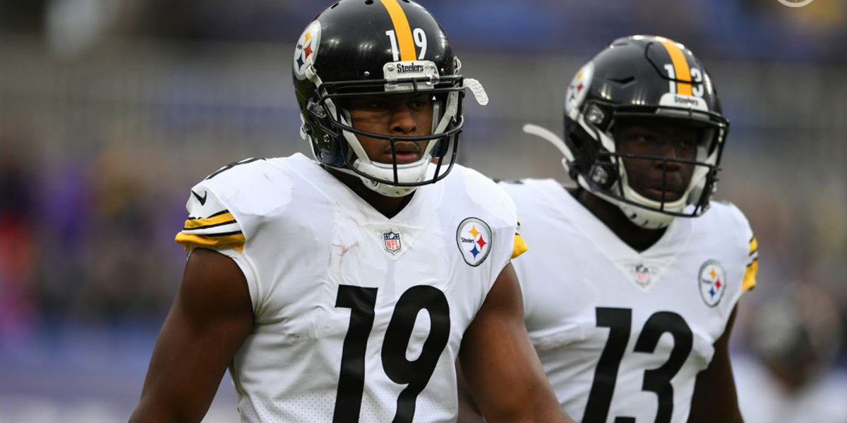 Pittsburgh Steelers WRs JuJu Smith-Schuster and James Washington