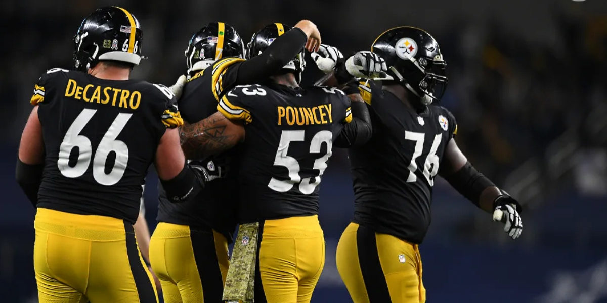 Steelers Maurkice Pouncey, David DeCastro, Chukwuma Okorafor
