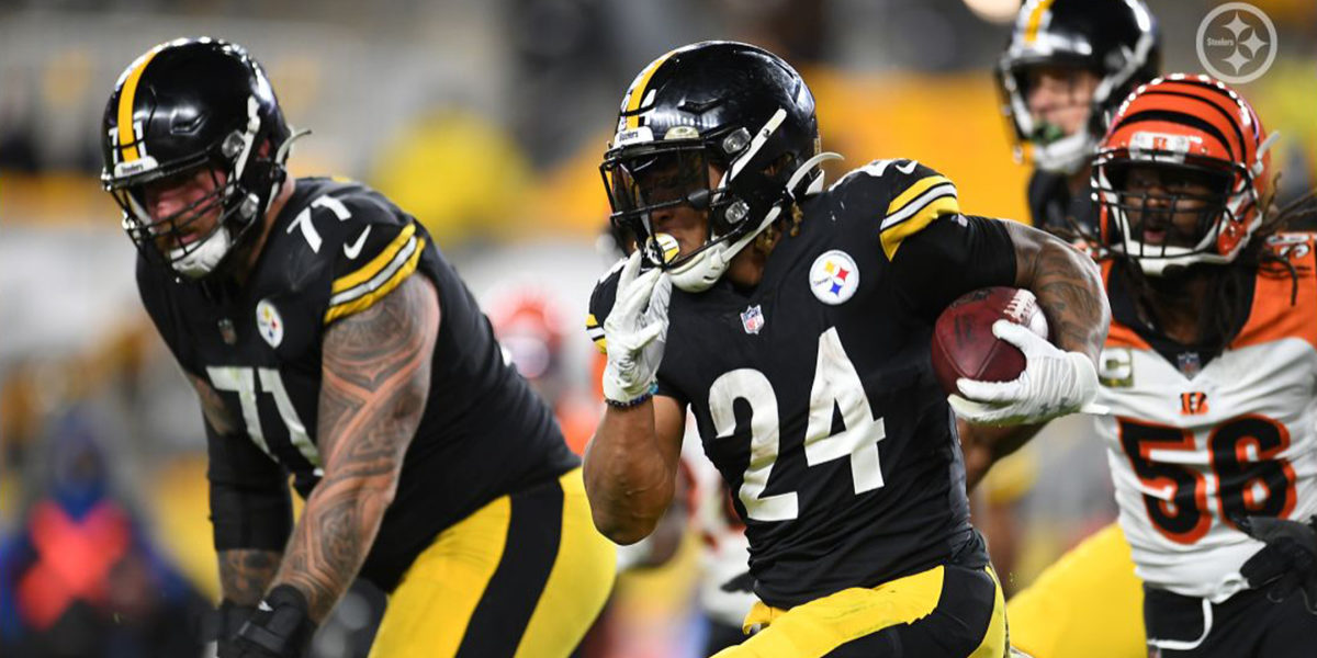 Pittsburgh Steelers RB Benny Snell