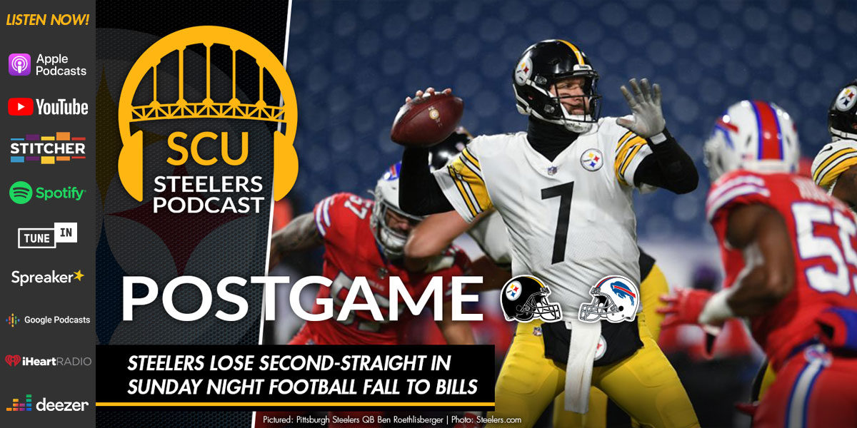 Steelers lose second-straight in Sunday Night Football fall to Bills