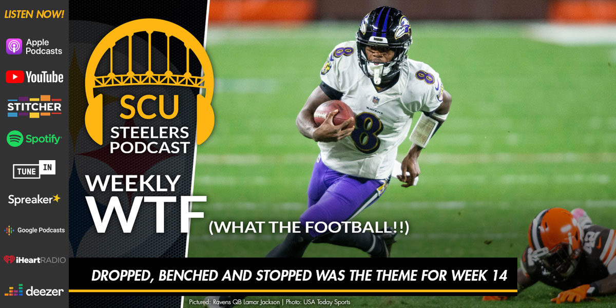 Weekly WTF: Dropped, benched and stopped was the theme for week 14