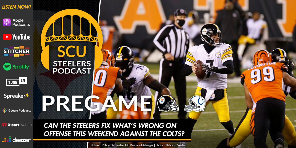 Can the Steelers fix what's wrong on offense this weekend against the Colts?