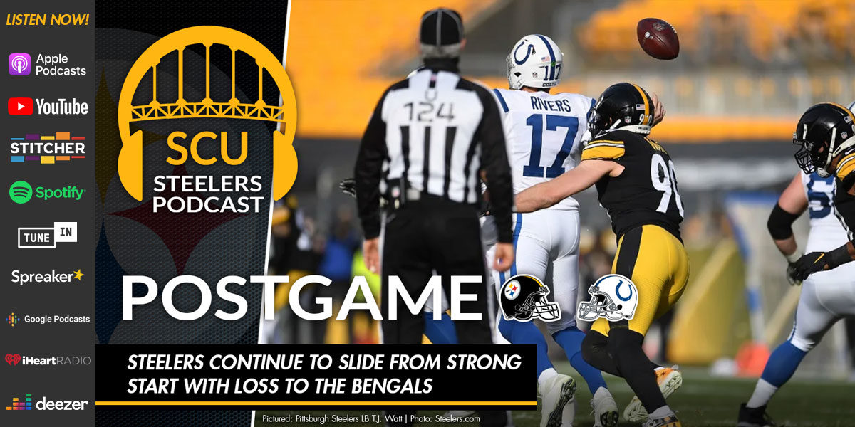 Steelers slump ends with a 28-24 comeback win over the Colts