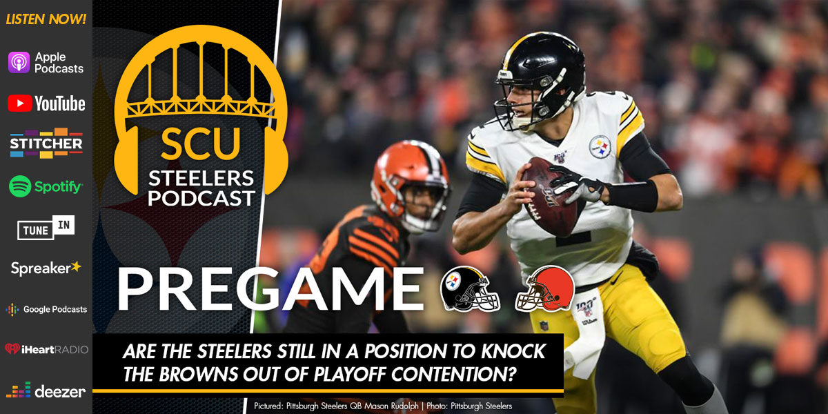 Are the Steelers still in a position to knock the Browns out of playoff contention?
