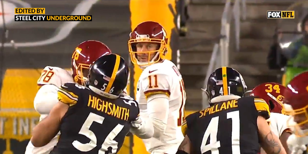 Watch: Spillane's sack extends Steelers streak, ties NFL record at 69 consecutive games