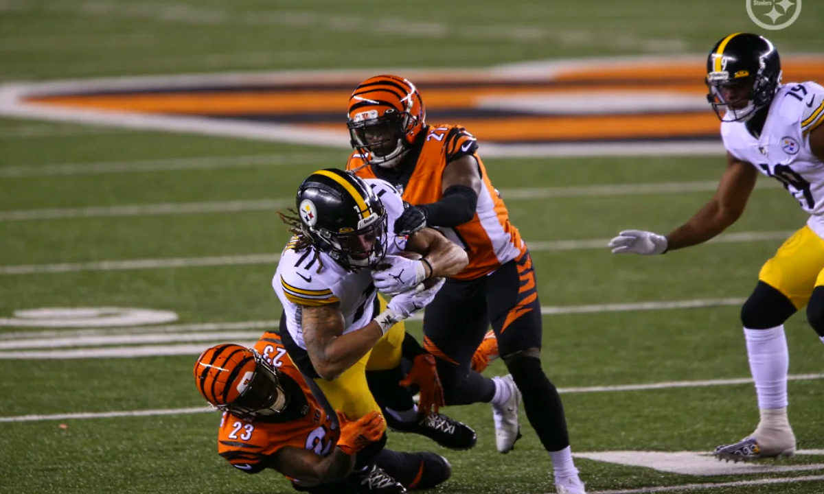 Pittsburgh Steelers rookie receiver Chase Claypool #11