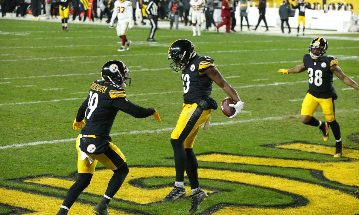 Pittsburgh Steelers WR James Washington