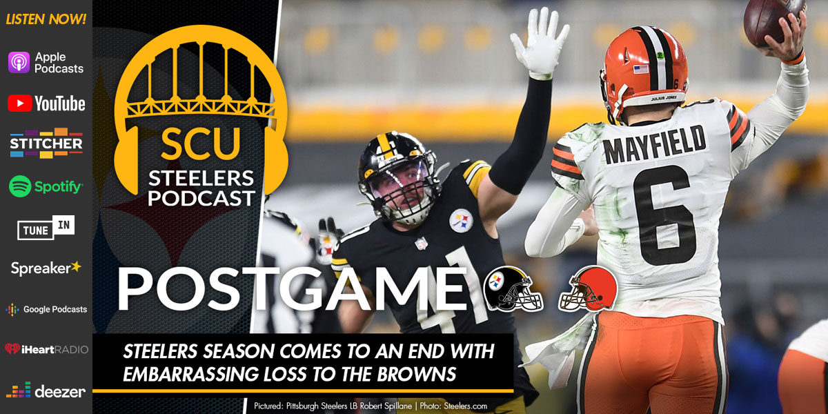 Steelers season comes to an end with embarrassing loss to the Browns