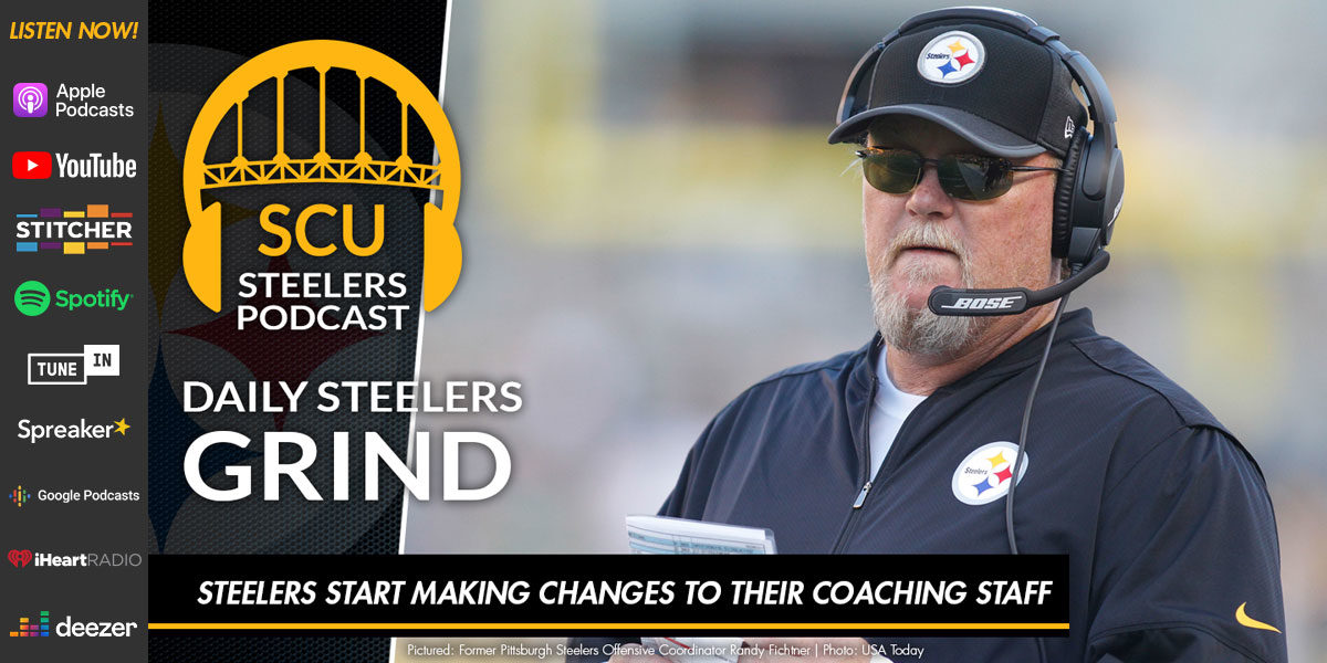 Steelers start making changes to their coaching staff