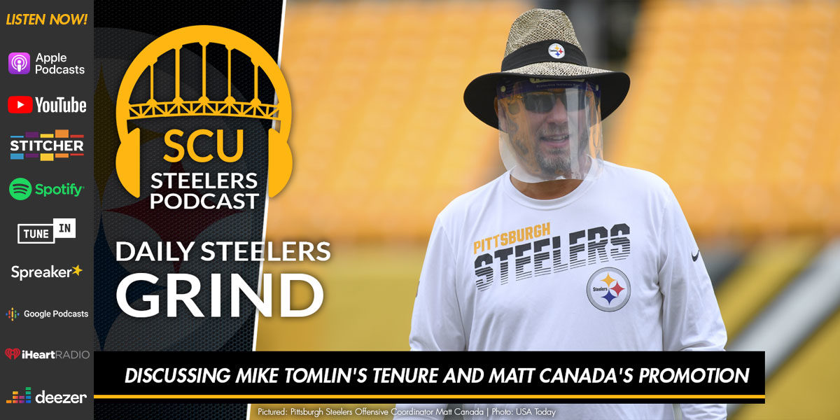 Discussing Mike Tomlin's tenure and Matt Canada's promotion