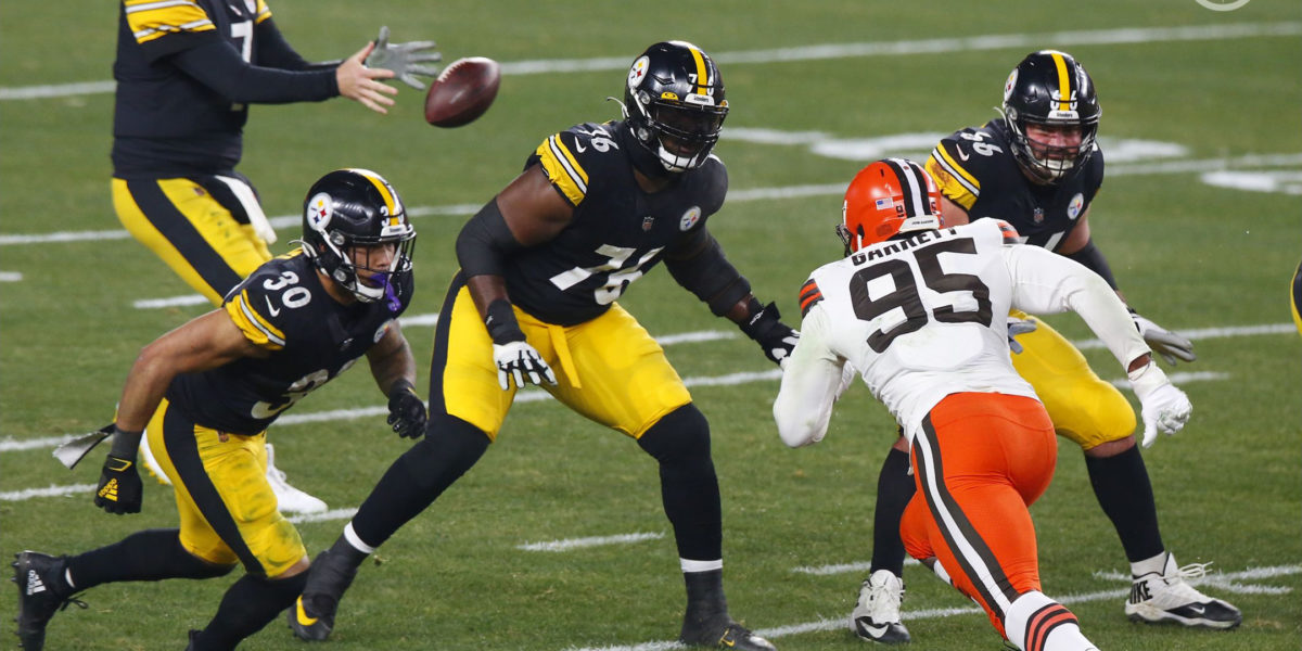 Pittsburgh Steelers OT Chuks Okorafor