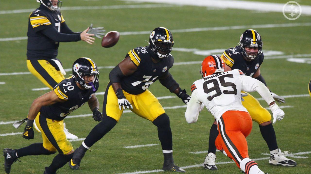 Pittsburgh Steelers OT Chuks Okorafor