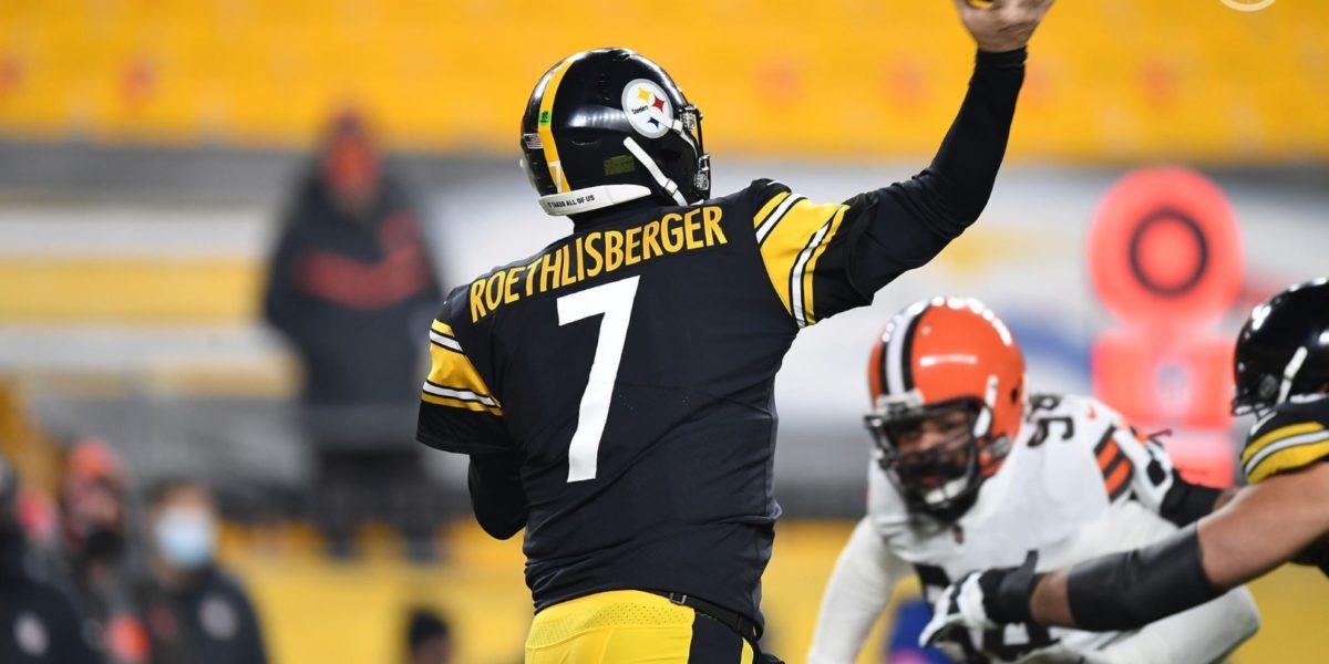 Pittsburgh Steelers QB Ben Roethlisbergerq