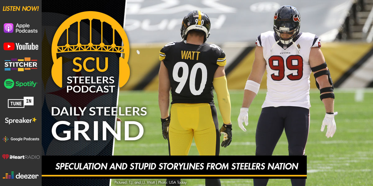 Speculation and stupid storylines from Steelers Nation
