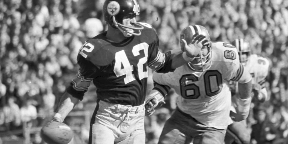 Dick Hoak of the Pittsburgh Steelers