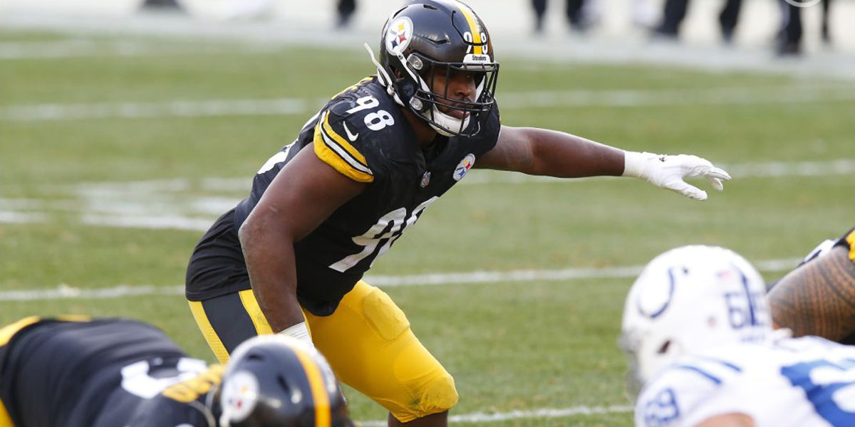 Pittsburgh Steelers LB Vince Williams