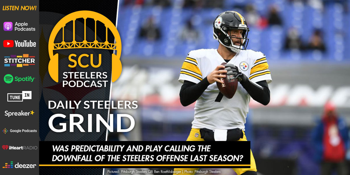 Was predictability and play calling the downfall of the Steelers offense last season?