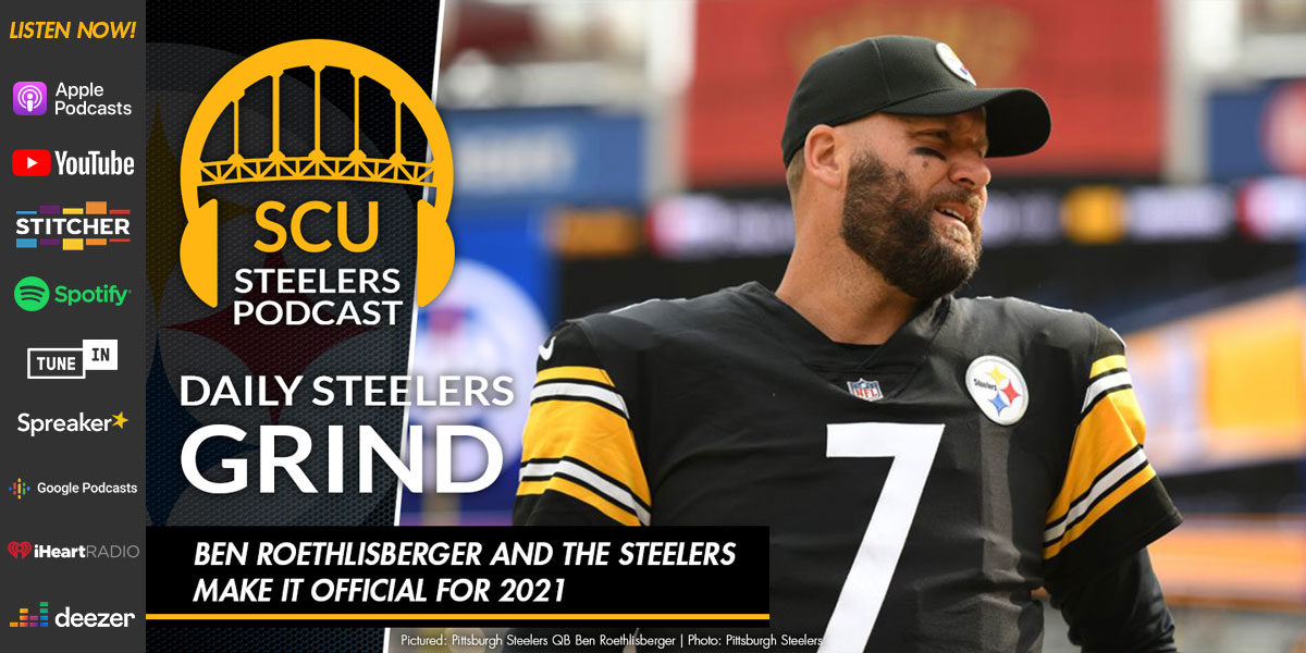 Ben Roethlisberger and the Steelers make it official for 2021