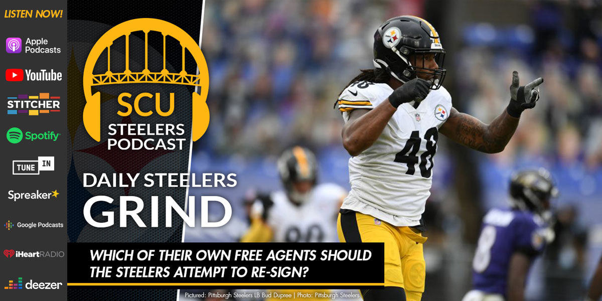 Which of their own free agents should the Steelers attempt to re-sign?