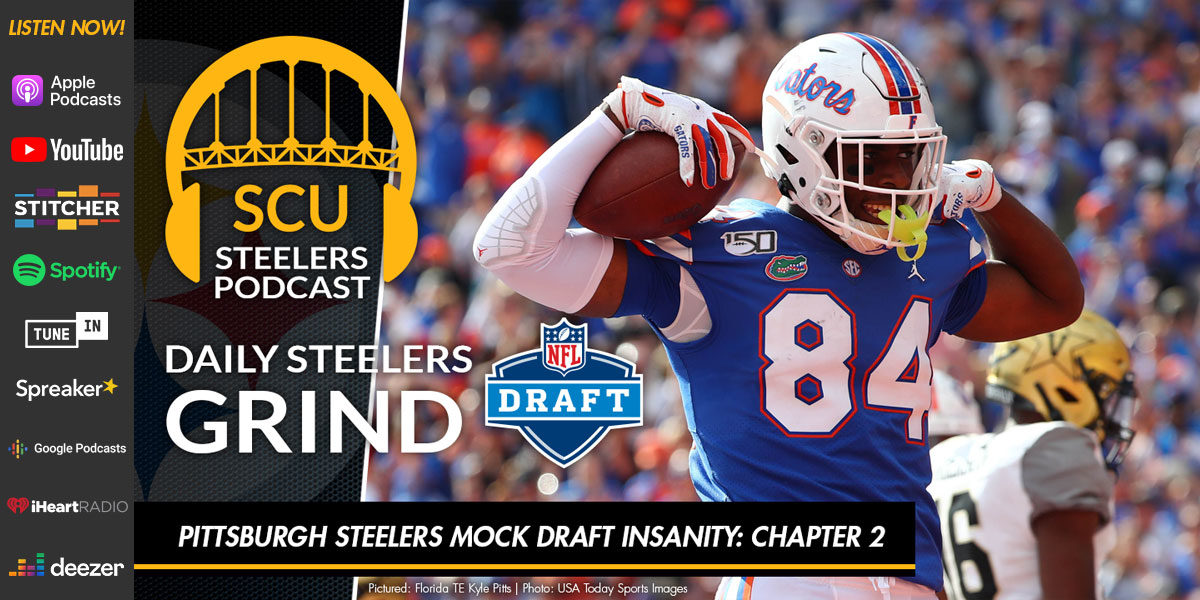 Pittsburgh Steelers Mock Draft Insanity: Chapter 2