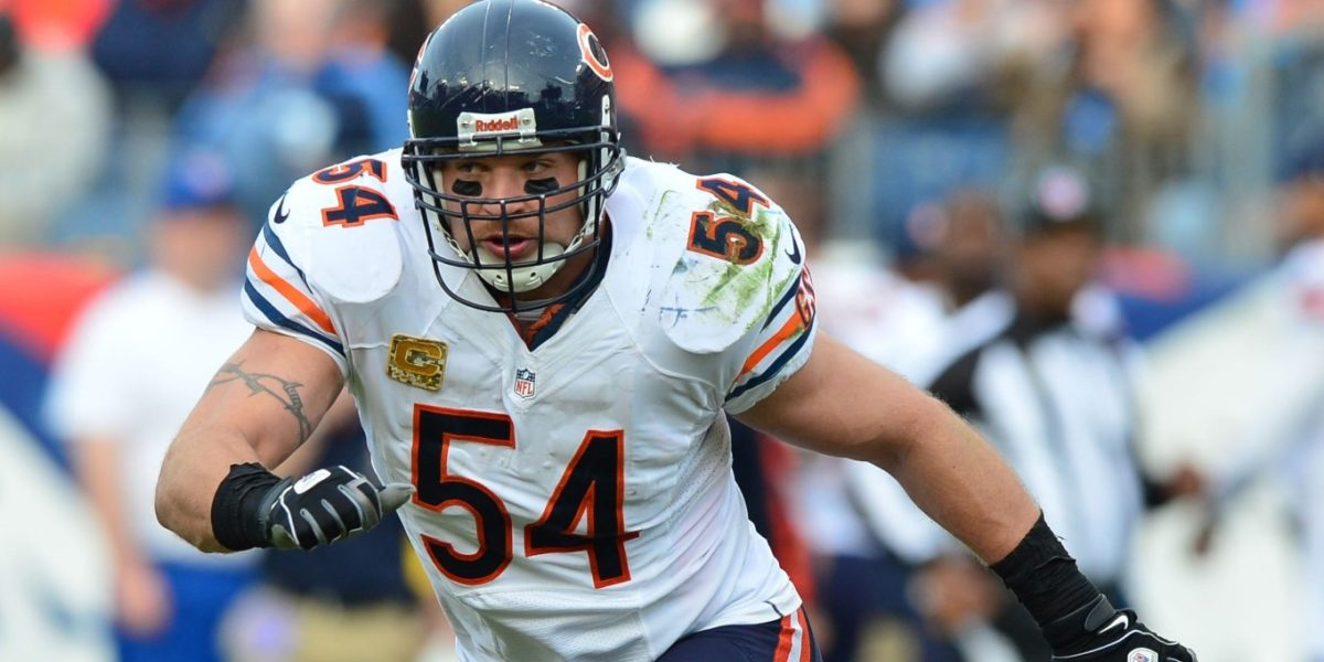 Chicago Bears LB Brian Urlacher