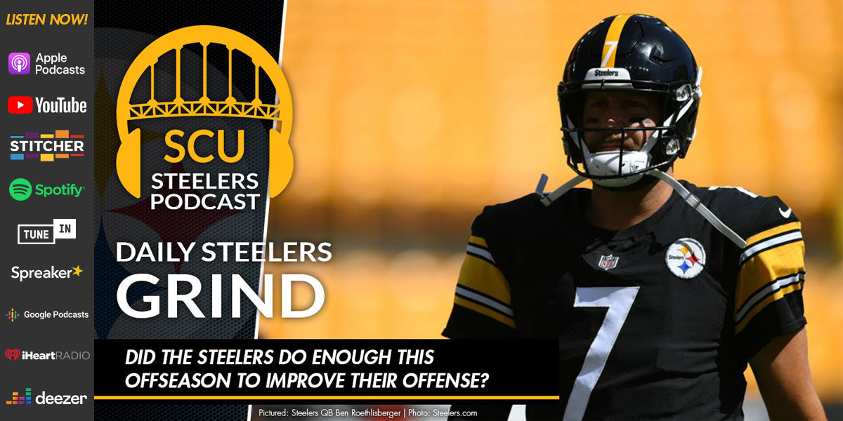 Did the Steelers do enough this offseason to improve their offense?