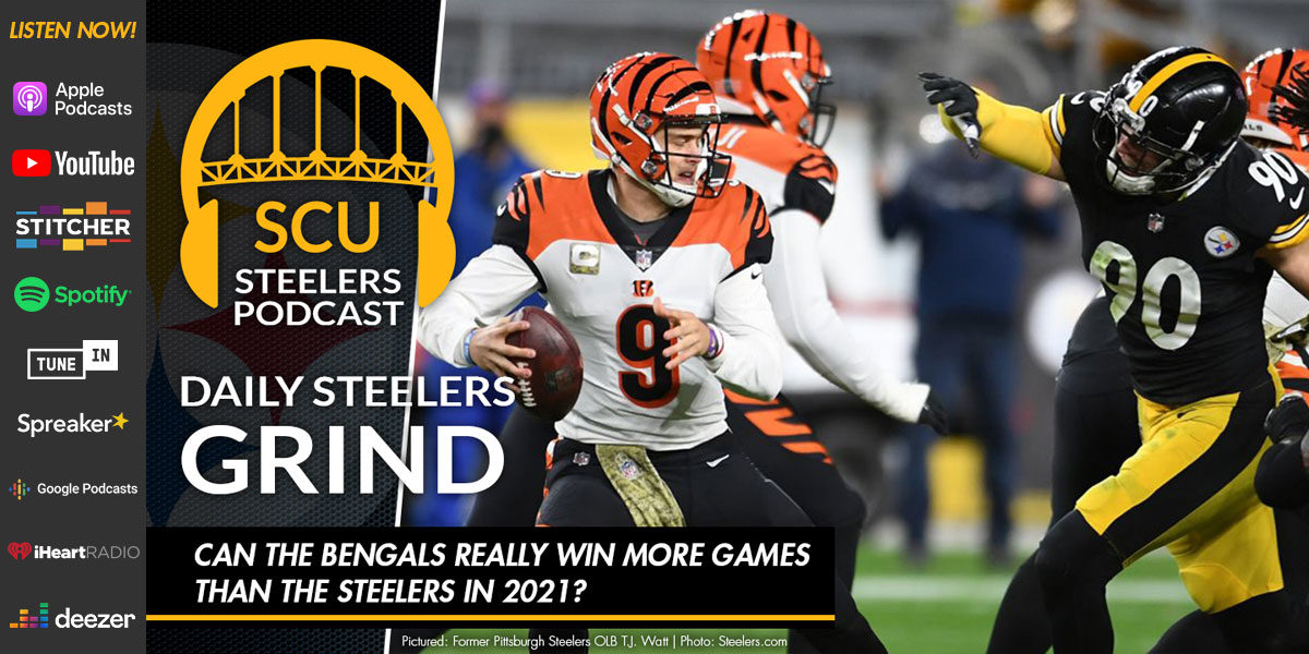 Can the Bengals really win more games than the Steelers in 2021?