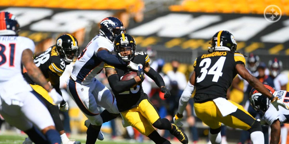 Steelers cornerback Joe Haden