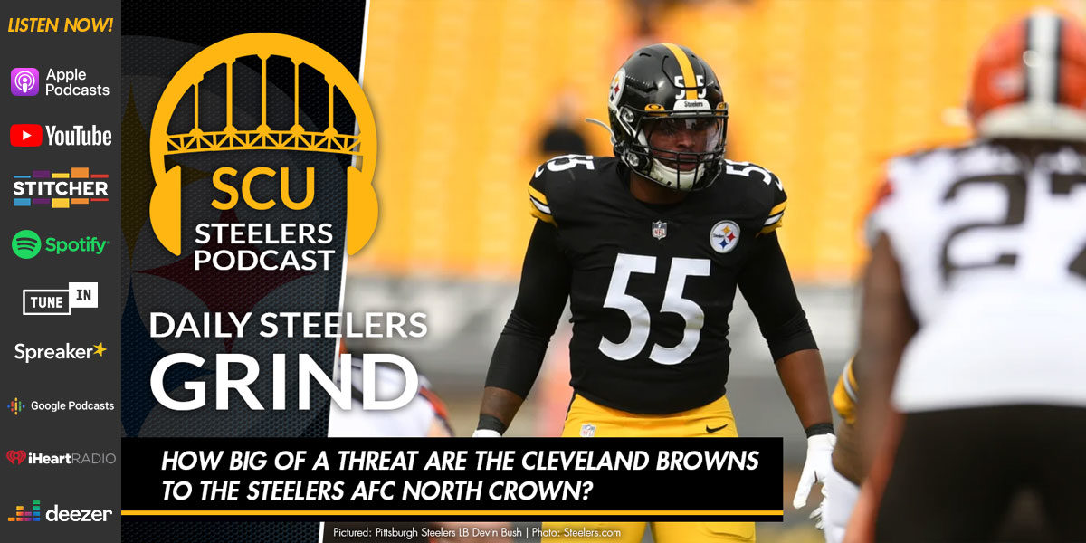 How big of a threat are the Cleveland Browns to the Steelers AFC North crown?
