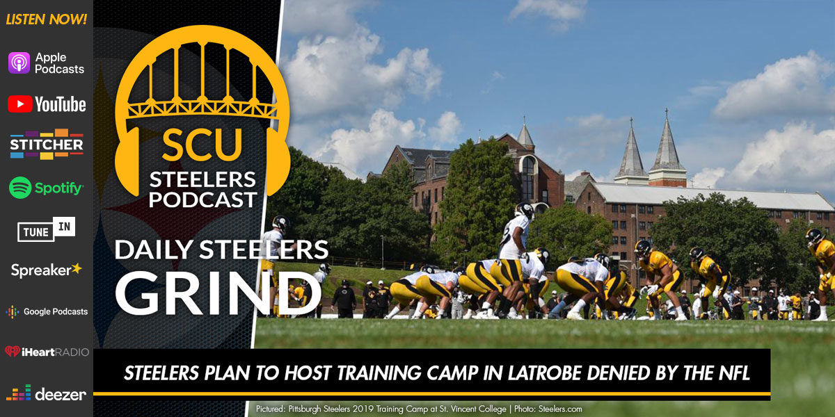 Steelers plan to host training camp in Latrobe denied by the NFL