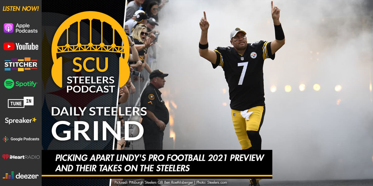 Picking apart Lindy's Pro Football 2021 Preview and their takes on the Steelers