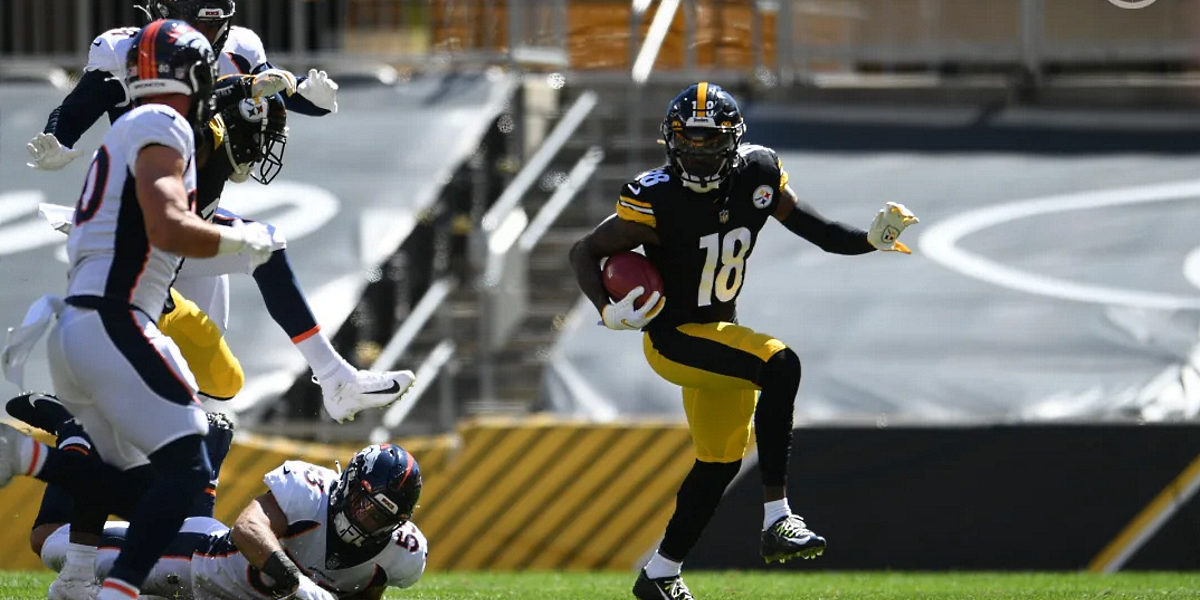 Steelers receiver Diontae Johnson