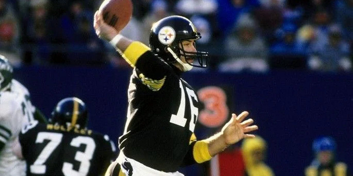 Mark Malone of the Pittsburgh Steelers
